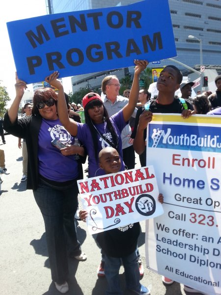 ... Sweet Home YouthBuild Celebrates National YouthBuild Day with Mentors